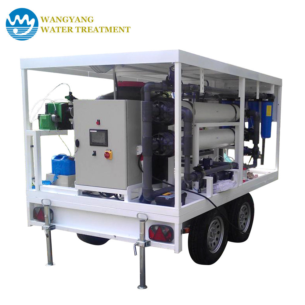China 999 Impurity Filtered Reverse Osmosis Filter System Portable Process Flow Diagram Plant Ro Water Equipment