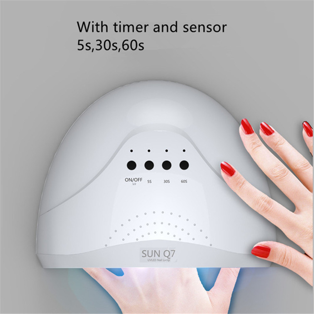 China Sunshine Art Sunq7 LED Nail Lamp 48W UV Nail Art Machine ...