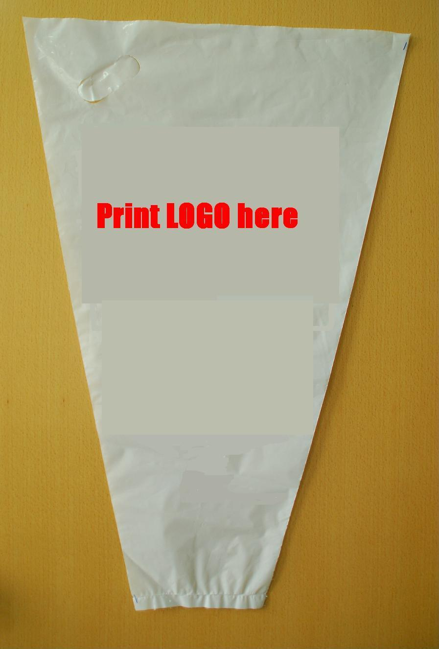 Colorfull Printed Clear Plastic Flower Bag for Packaging Flower pictures & photos