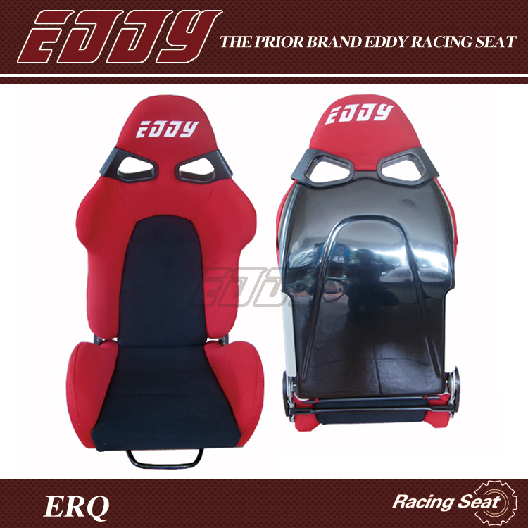 China Manufacturer Bride Cuga Rally Car Seats Stadium Seat With Fibergl Backing And Red Velvet Fabric