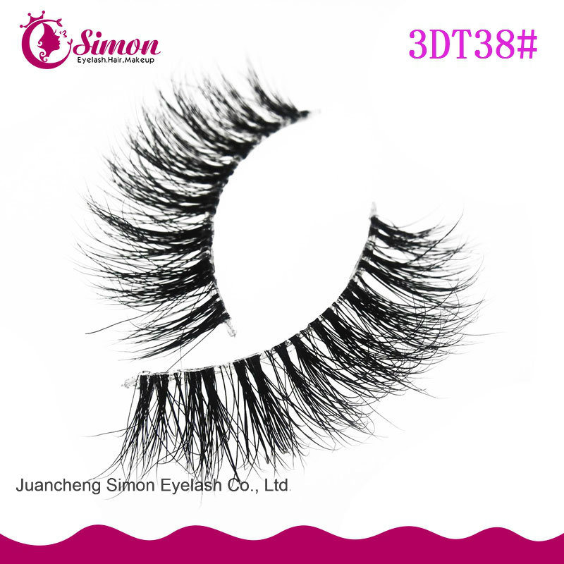 Natural Minkhair Eyelashes for Eye Makeup pictures & photos