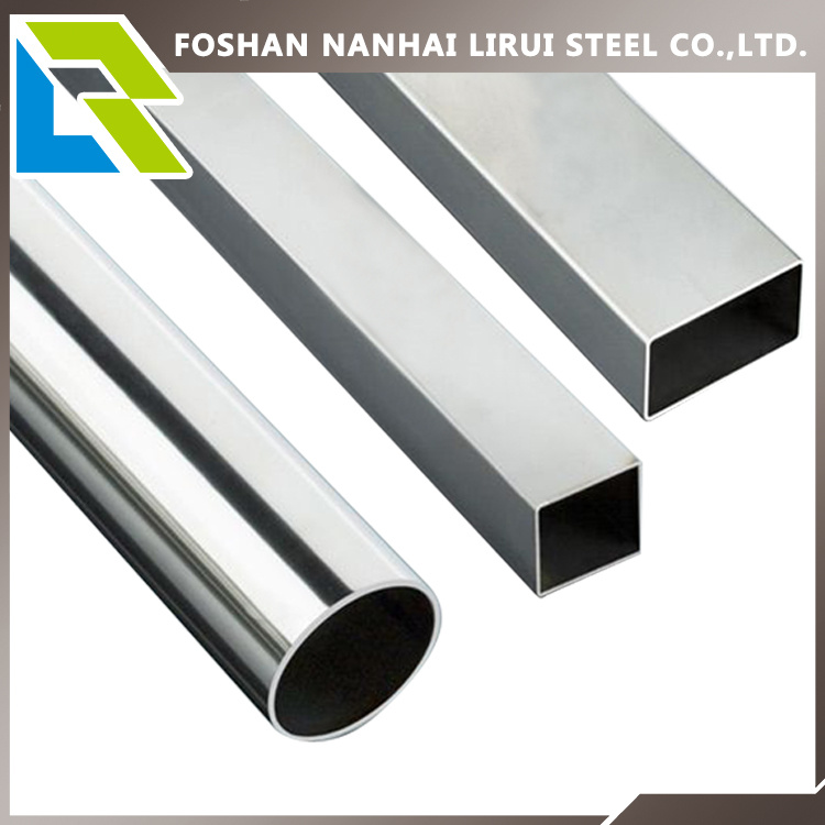 201/304 Grade Stainless Steel Tube for Decoration