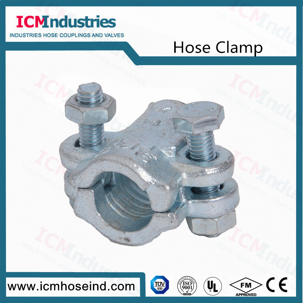 China Investment Casting Carbon Steel Steam Interlock Clamps Photos ...