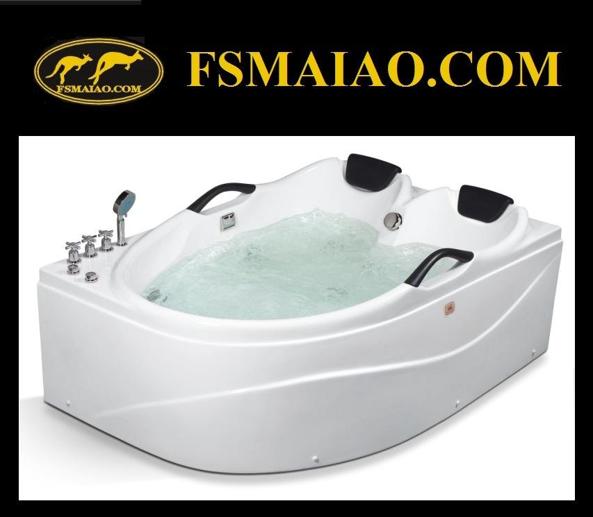 China Luxury Two-Seats Whirlpool Massage Acrylic Jacuzzi Hot Tub (MG ...