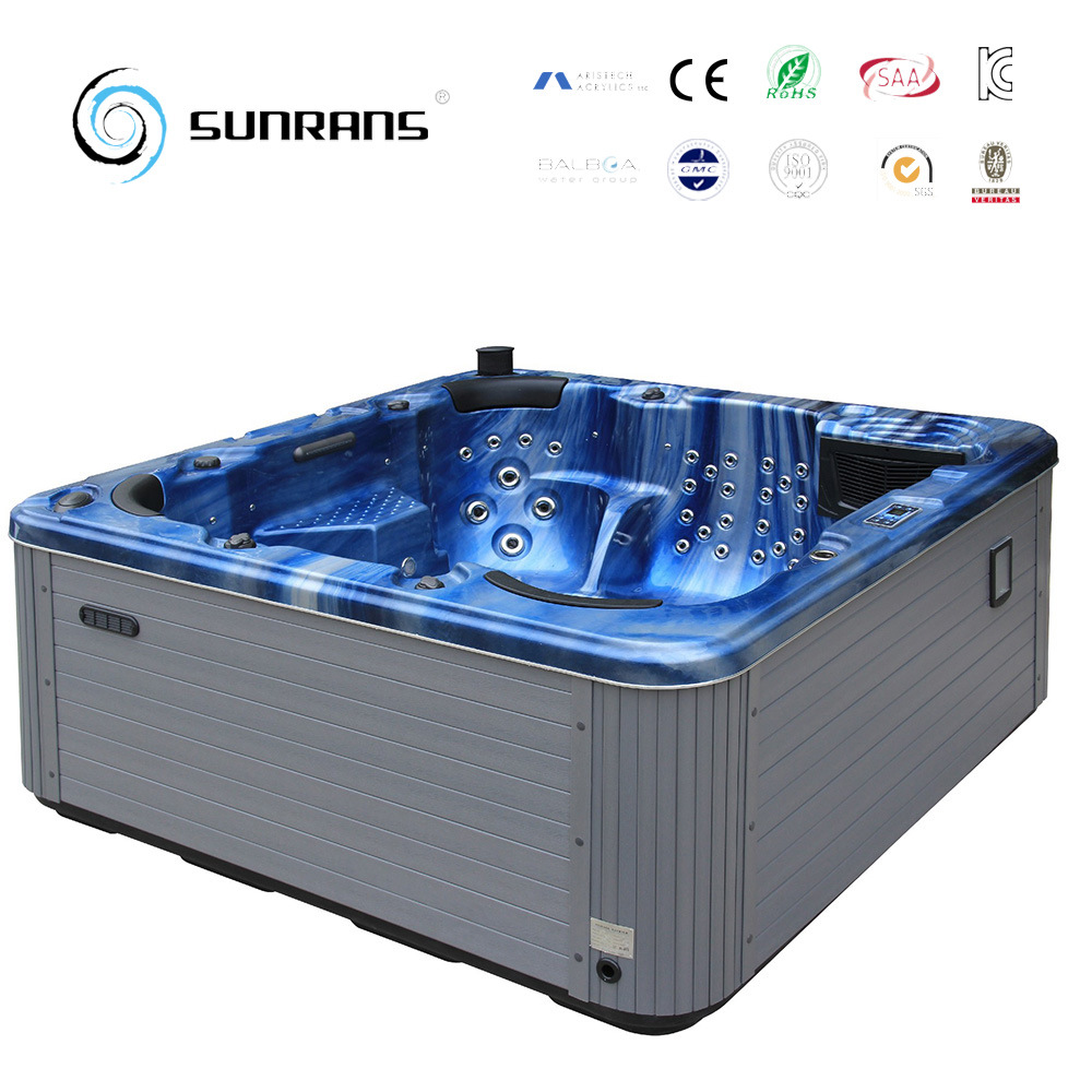 China Hot Sale Balboa System Indoor Whirlpool SPA Bathtub - China ...
