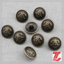 Metal Mushroom Button for Garments