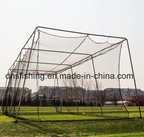 Twisted Poly Batting Cage Net And Frame (2.7mm X 55 X 14 X 12)