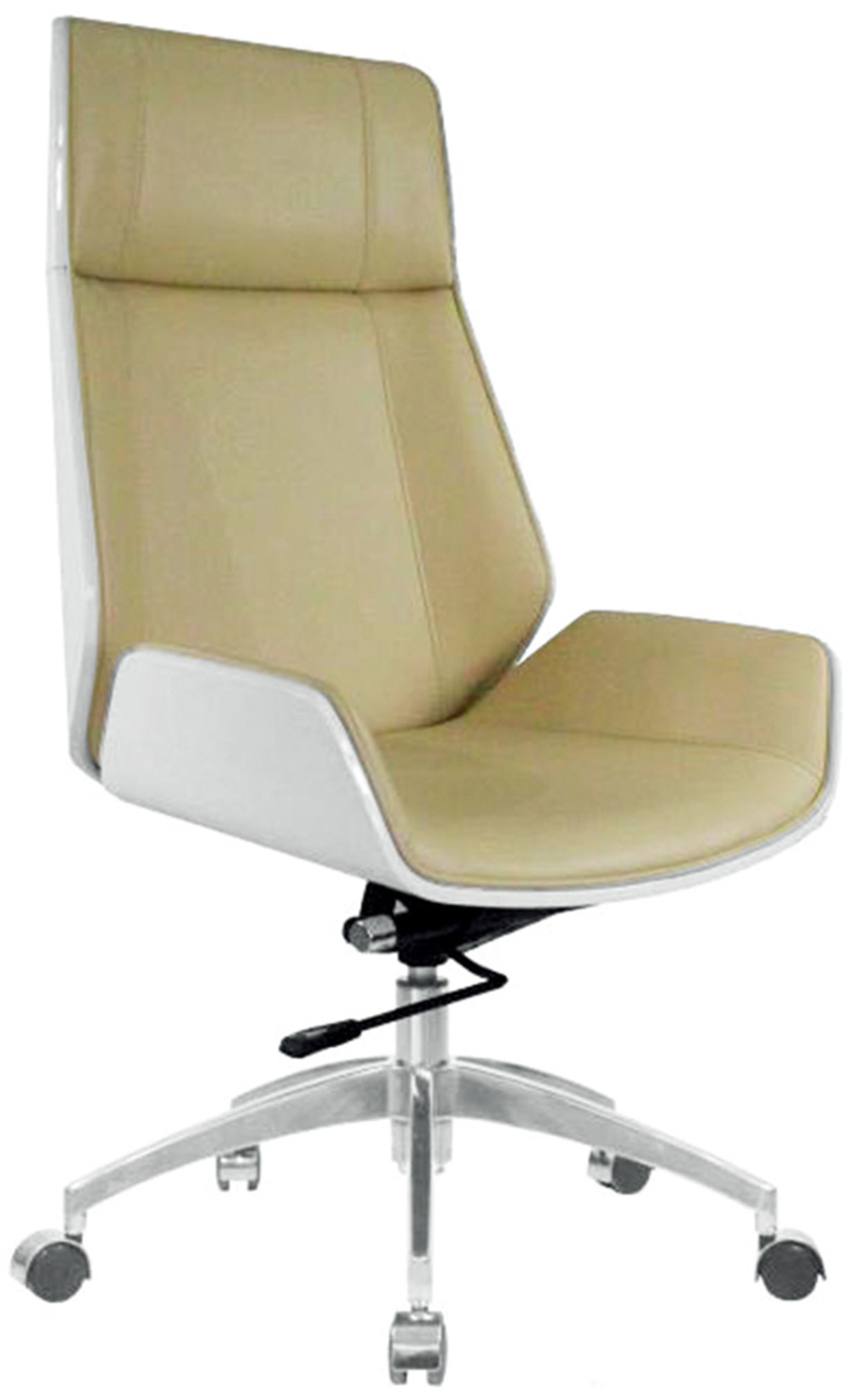 Hot Item Bentwood High Back Leather Ergonomic Home Office Executive Swivel Chair Pk501