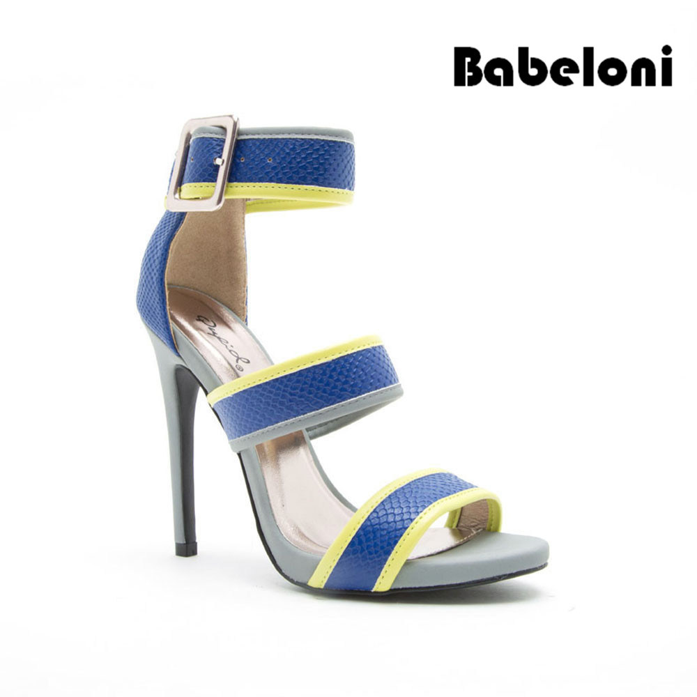 8098d15d7bd [Hot Item] China Cheap Price European Fashion Girls High Heel Sandals S245