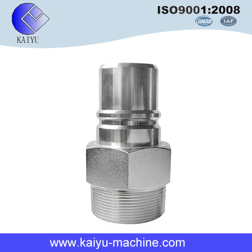Male Tread Steel Hydraulic Pipe Fitting  sc 1 st  Yu Huan Kaiyu Machine Co. Ltd. & China Male Tread Steel Hydraulic Pipe Fitting - China Connector Adaptor