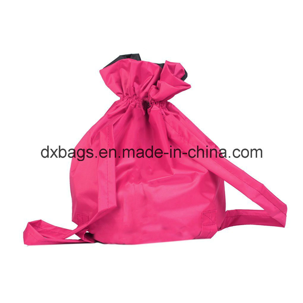 Dance Bags Shoulder Strap Drawstring School Backpack for Kids Girls Boys pictures & photos