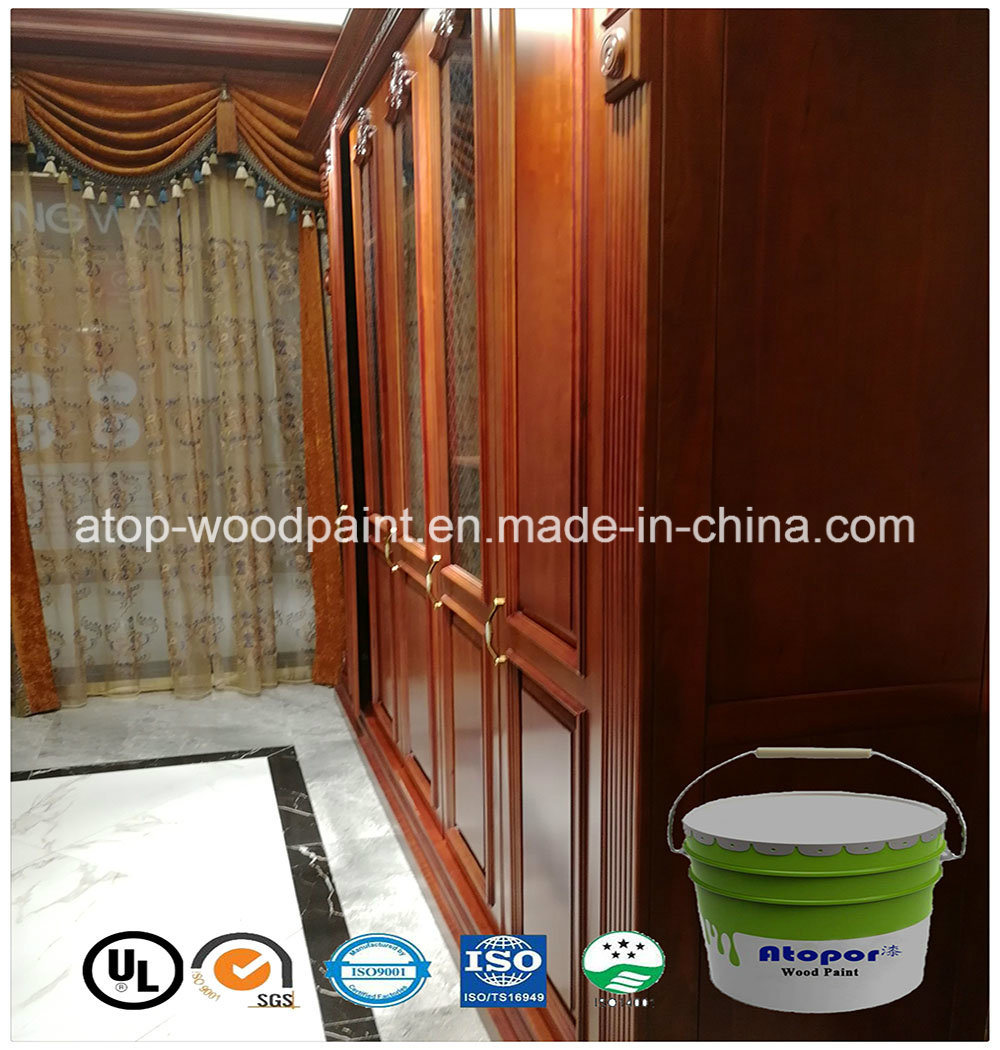 China Uv Painting Colors Wood Furniture Coating Varnish Topcoat High Clear Gloss Hpl Paint