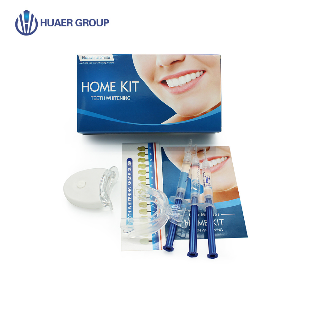 China Oral Care Mini Led Whitening Light Home Teeth Whitening Kit