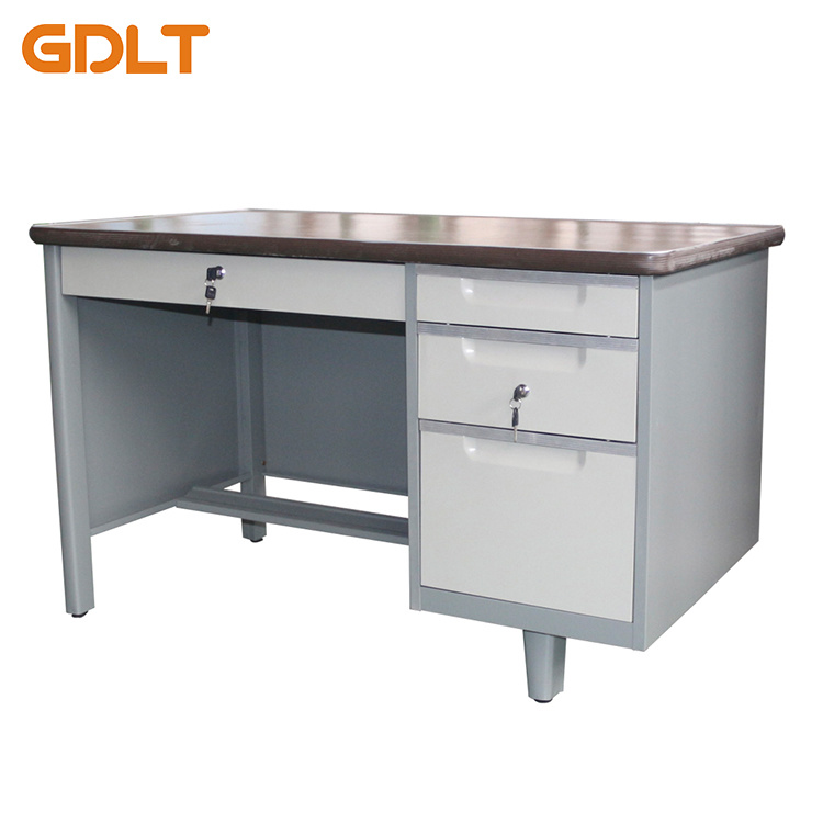 China Cheap Office Desk/Metal Office Desk/3 Drawer Metal Office