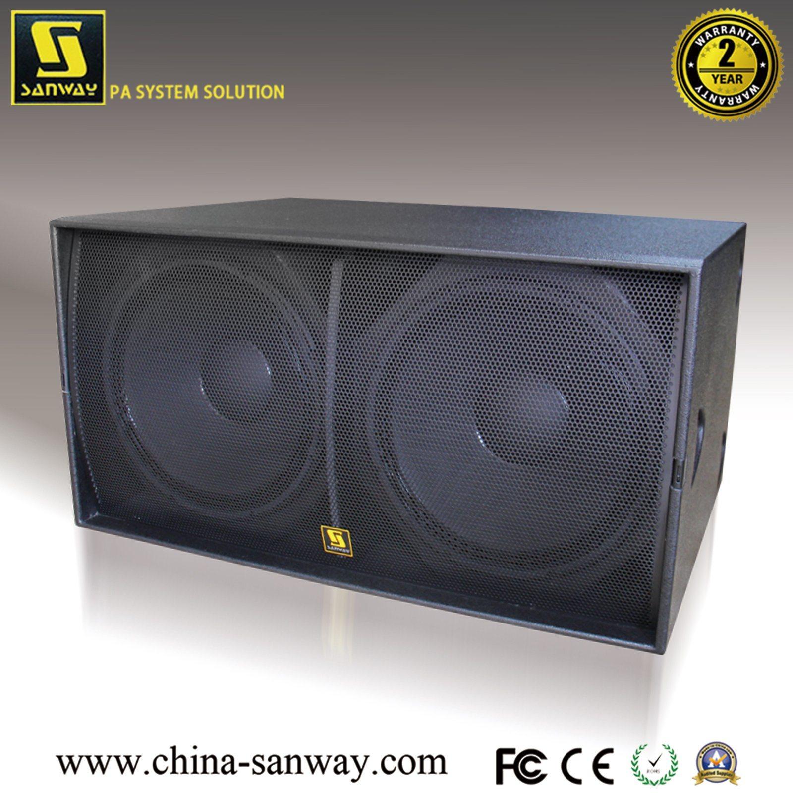 [Hot Item] Ws218X 2400W PRO Audio Dual 18