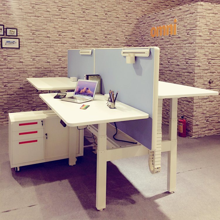 hot sale online 4b665 79b04 [Hot Item] Modern Furniture T Shaped 2 Person Office Desk