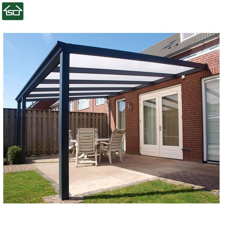 China Garden Pergola Aluminium Veranda Pergola Aluminum Outdoor China Patio Cover Terrace Cover