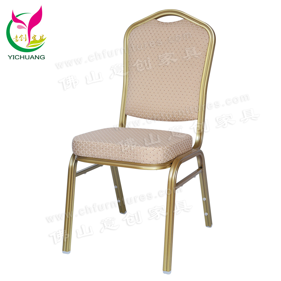 Hot Item Yc Zg30 02 Comfortable Rental Stackable Metal Chair For Banquet