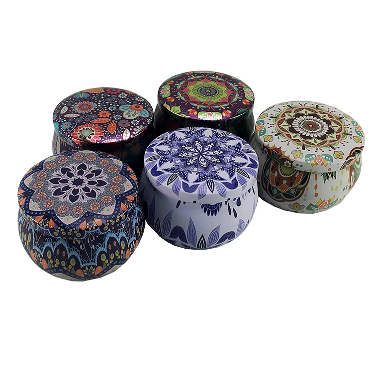High Quality Round Metal Candy Mint Gift Candle Tins Box pictures & photos