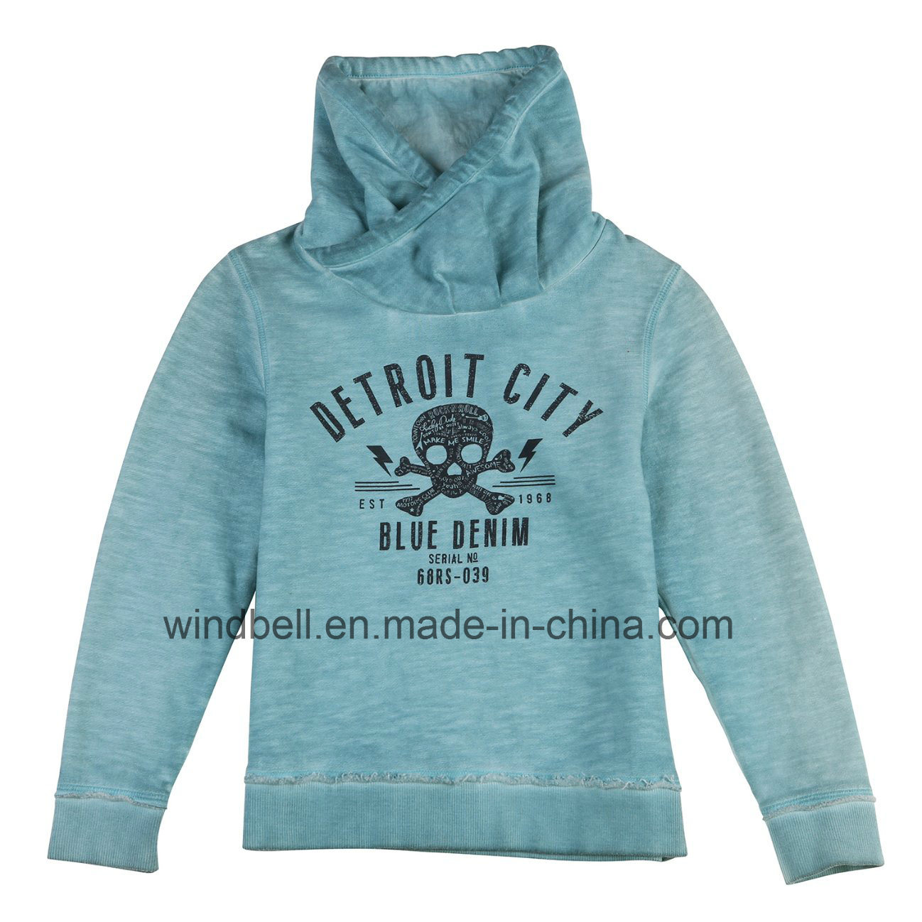 New Style Pullover for Boy with Dirty Wash
