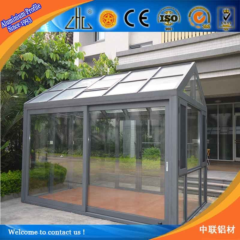 Factory Supply 6063 T5 Aluminum Green House pictures & photos