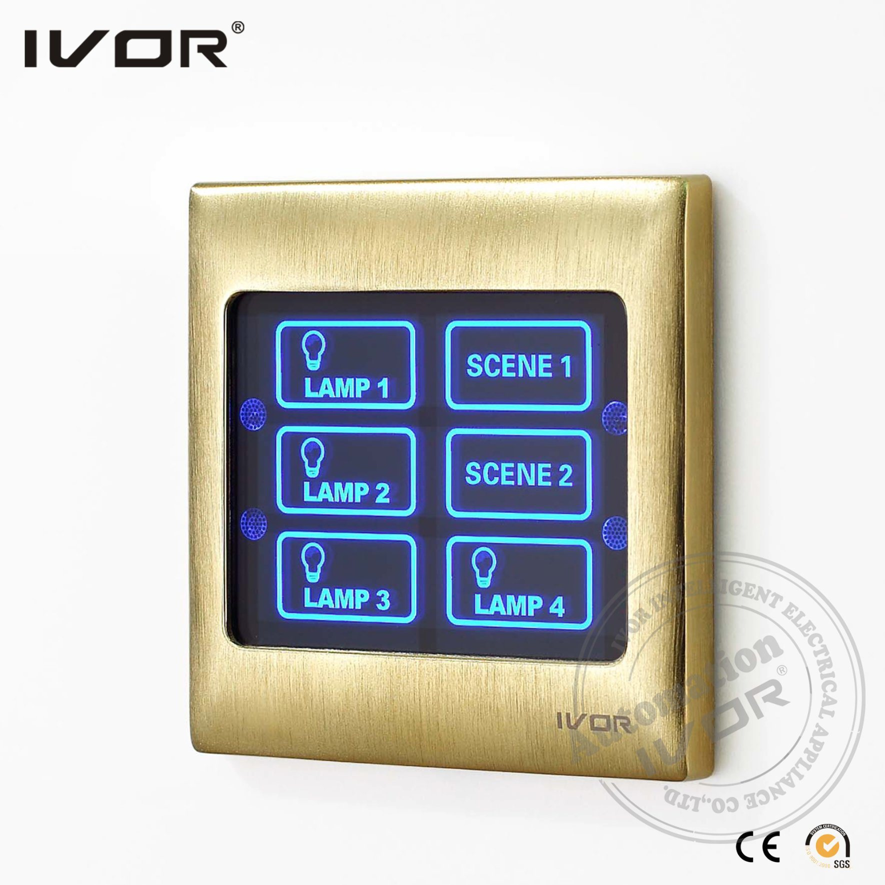 Ivor Smart Home Light Switch with Scene and Remote Control pictures & photos