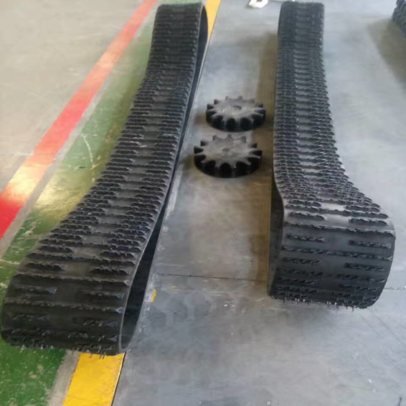 China Rubber Track System, Rubber Track Qatv-320 For Snow