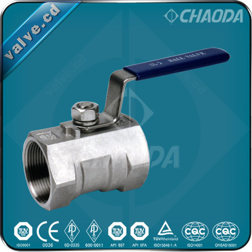 Qz11f Female Threaded One Piece Ball Valve