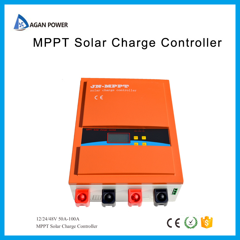 MPPT 100A Solar Charge Controller 12/24/48V DC with Max PV Input 150V RoHS Certifications pictures & photos