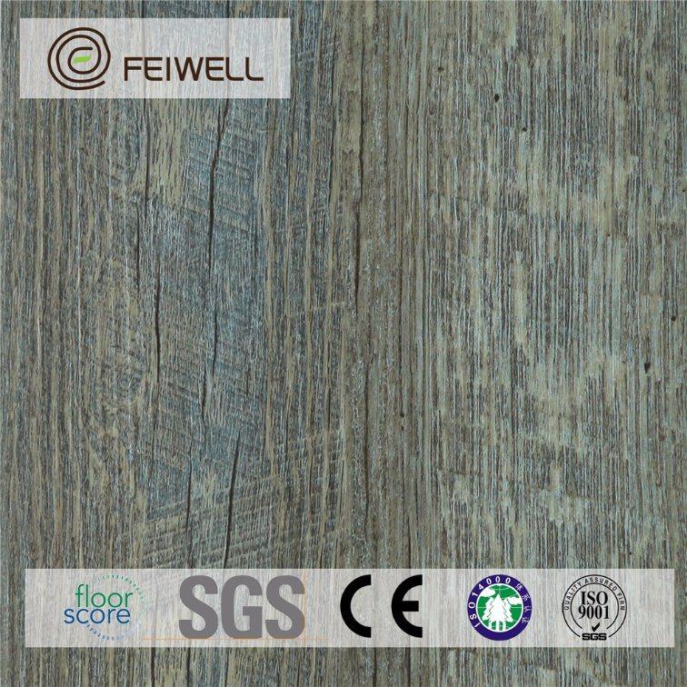 China The Cheapest Household Unilin Click Pvc Vinyl Floor Tile Like