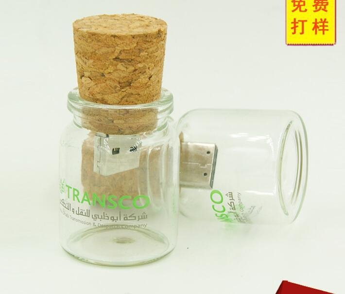 Floating Bottle Pendrive Wish Bottles USB Flash Memory Stick pictures & photos