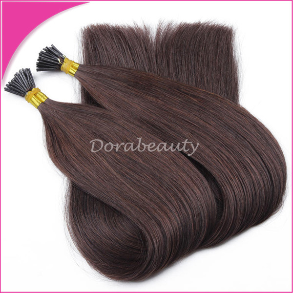 China U I Tip Keratin Hot Fusion Pre Bonded Remy Human Hair