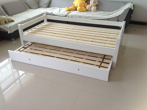 White Color Children Sofa Bed Made by Solid Wood (M-X1100)