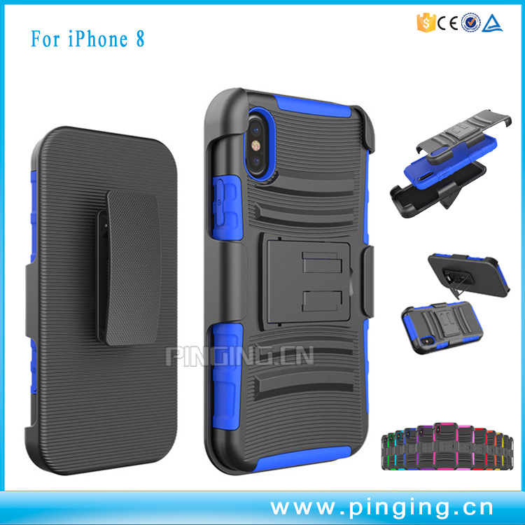 China Holster Blet Clip Cell Phone Cases For Iphone 8 Case China