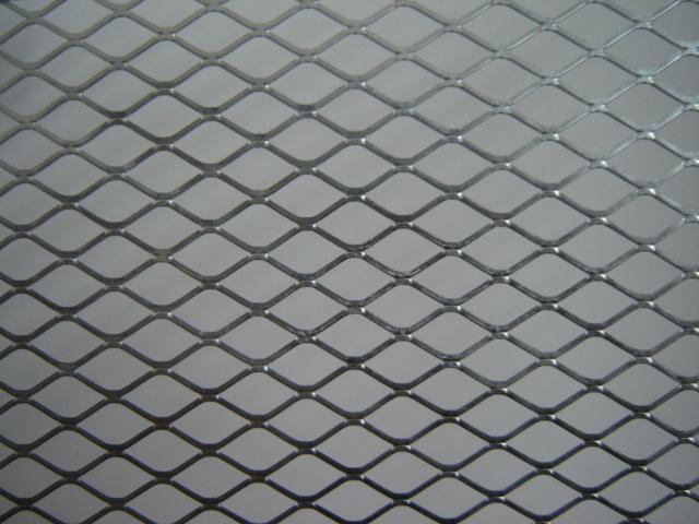 China Diamond Shape Expanded Metal Steel Sheet Panel