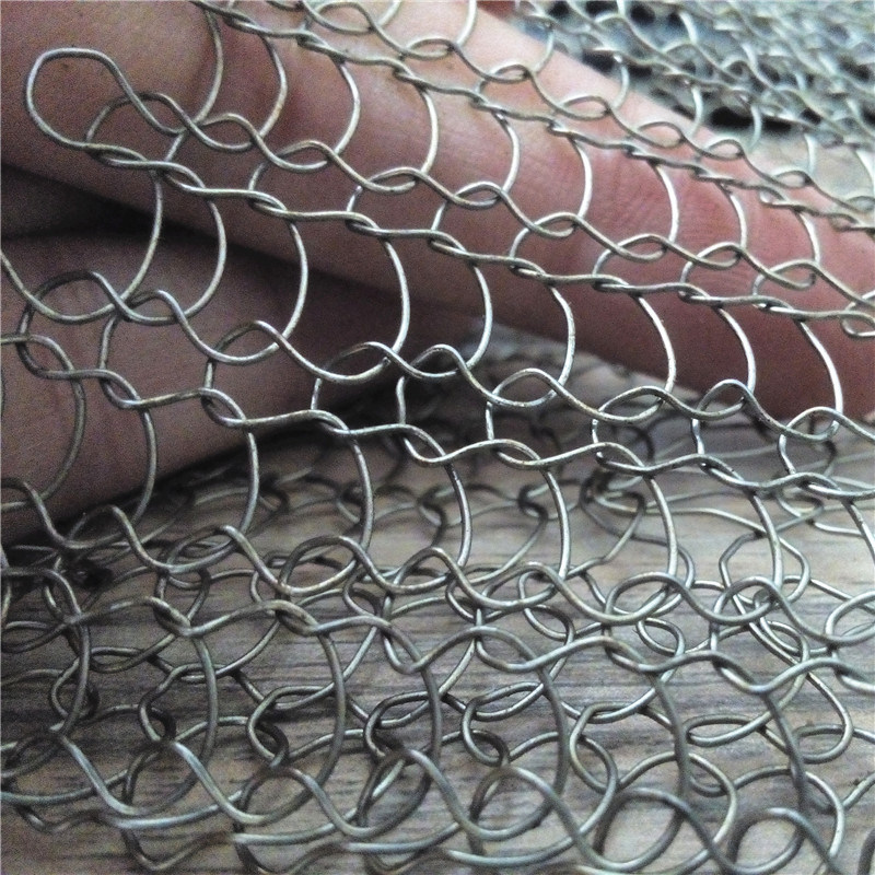 China Stainless Steel Knitted Wire Mesh Bag for Ceramic Fiber ...