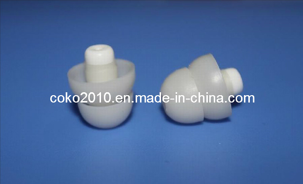 Milk Color Two Flanges Music Earplugs