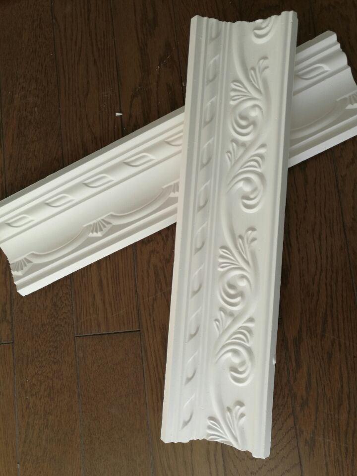 China Magnificent Decorative Gypsum Plaster Cornice