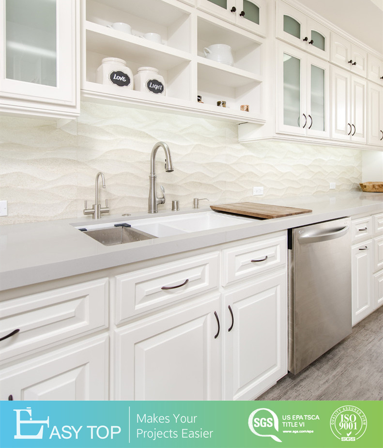 White Solid Wood Shaker Kitchen