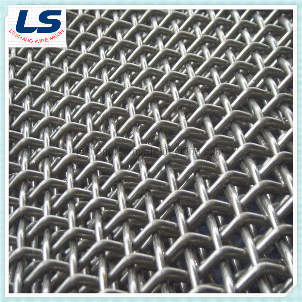 China Factory Price Woven Wire Mesh - China Pre-Crimped Mesh ...