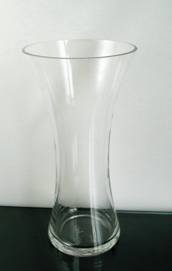 china clear glass flower vase  ldqp006