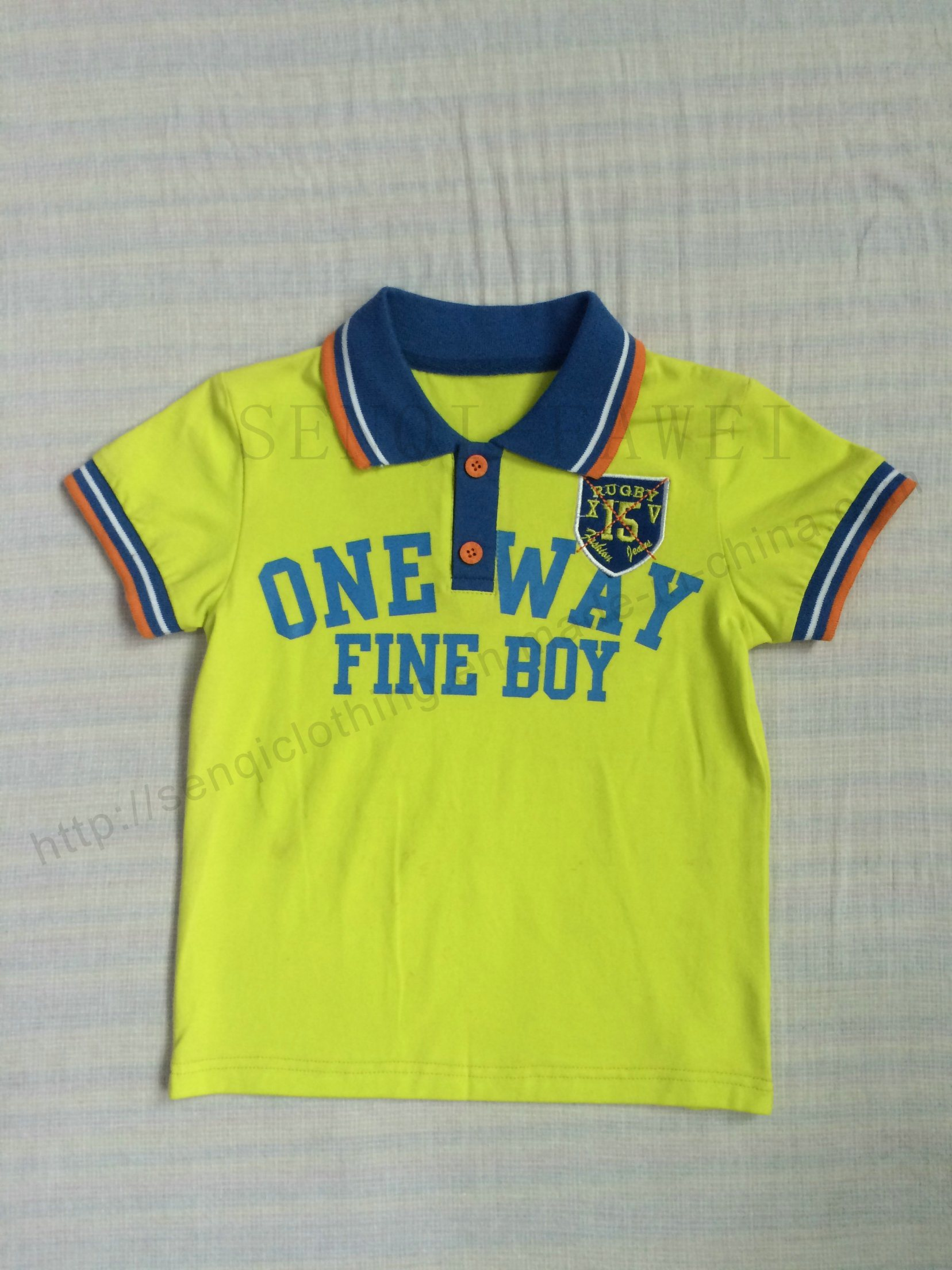 China Wholesale Boy Polo Shirt In Childrens Wear Sq 6266 China