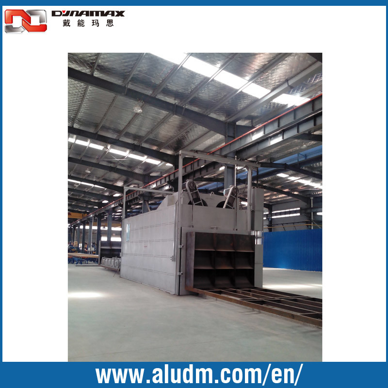 China 6 Baskets Single Door Aluminum Aging Furnace Oven In