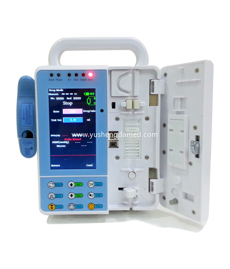 Drug Library New Micro Volumetric Intravenous Infusion Pump pictures & photos