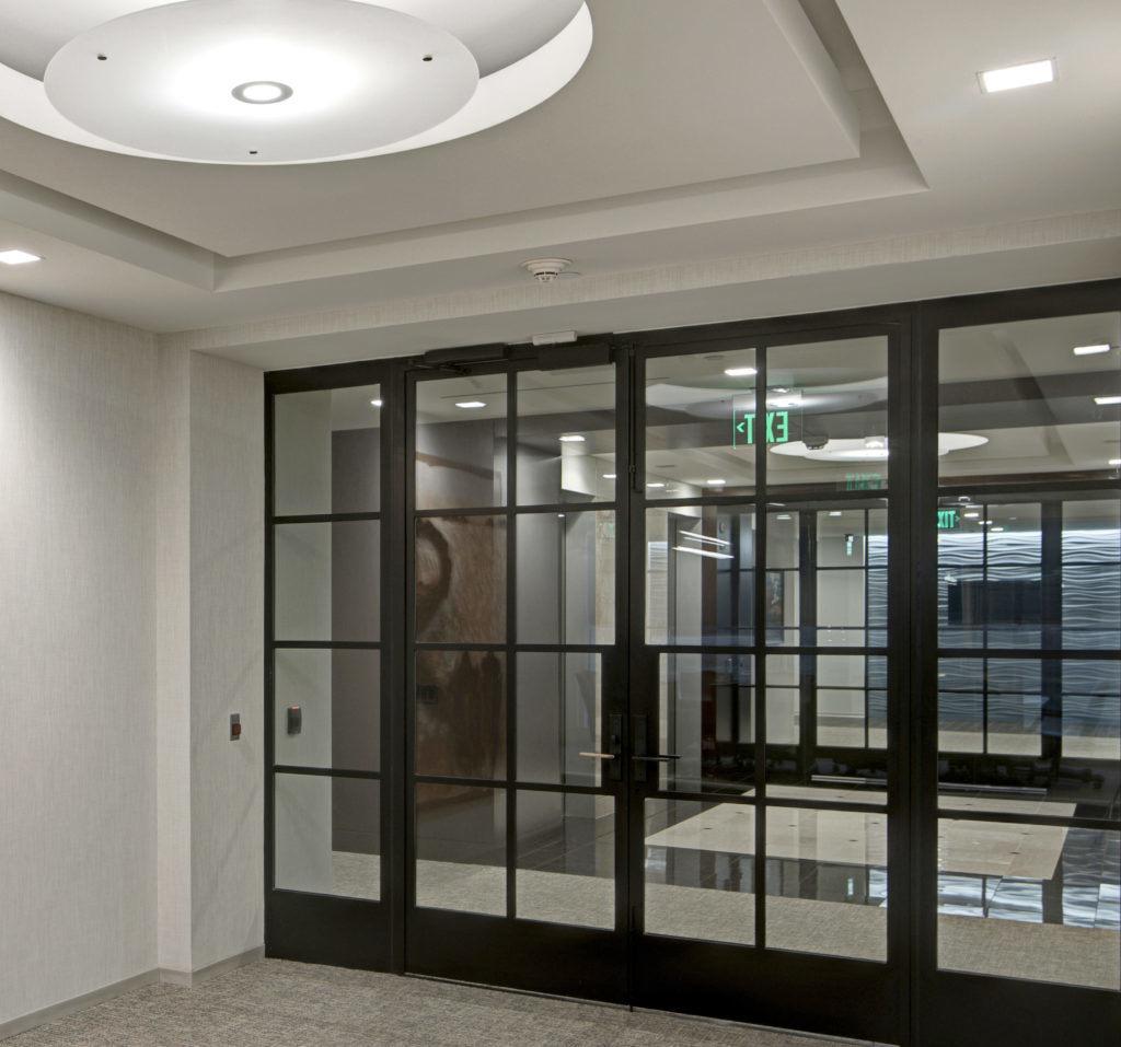 China Uropean French Steel Doors Bifold Door With Tempered Glass