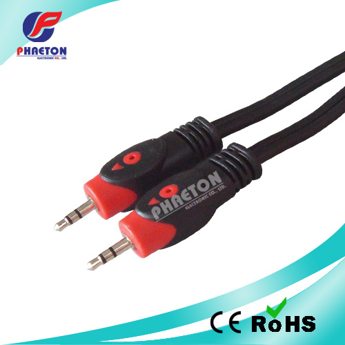 3RCA to 3RCA Fish Eye Audio Video RCA Cable pictures & photos