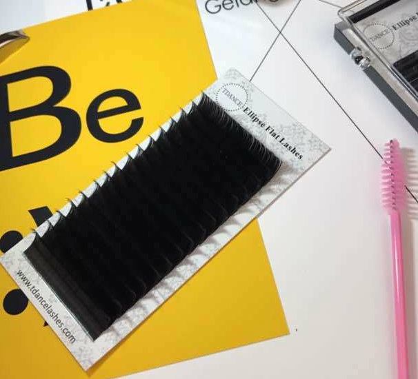 China Tdance The Best Eyelash Suppliers Private Label Mixed Length