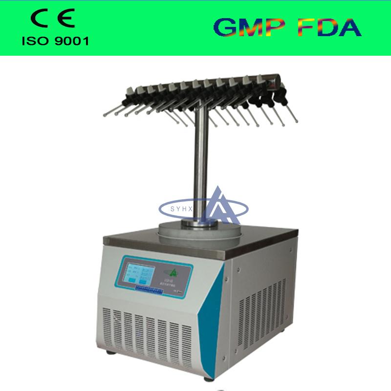 China Factory Price Bench Top Lab Vacuum Freeze Dryer/ Mini