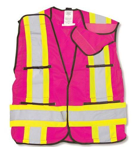 Popular Safety Vest with 5-Point Tear Away (DFV1083)