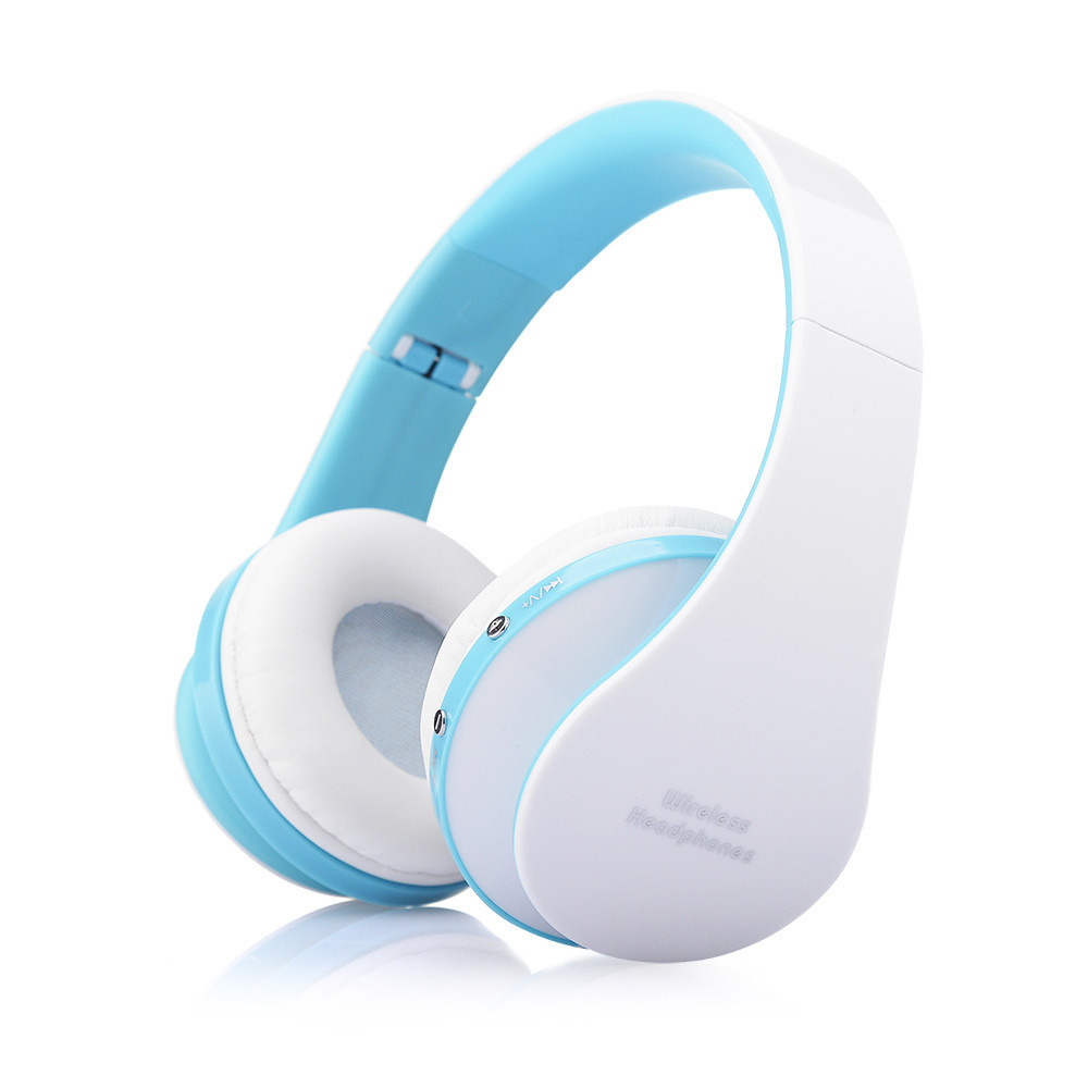 Foldable Wireless Bluetooth Stereo Headset Headphones Handsfree Microphone for Samsung/iPhone Smart Phones